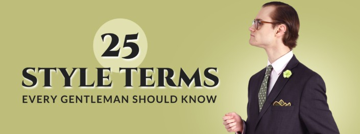 25 style terms banner