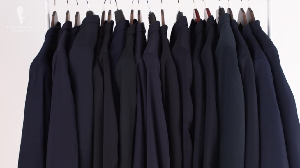 A variety of OTR suits that we previously reviewed