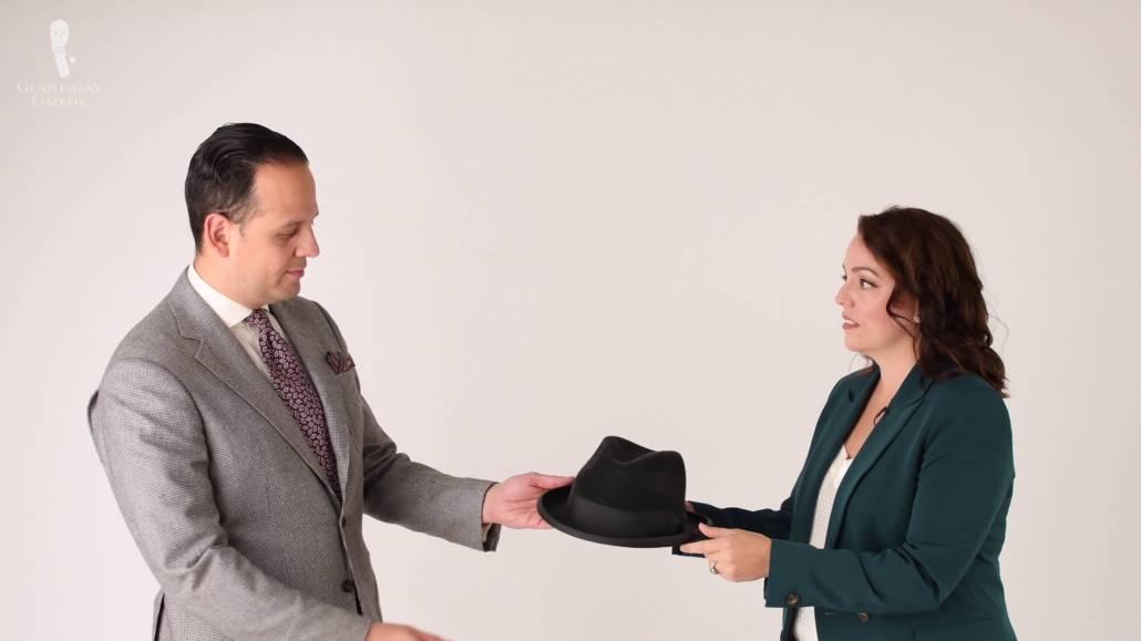 Sven Raphael Schneider with wife and business partner Teresa C. Schneider