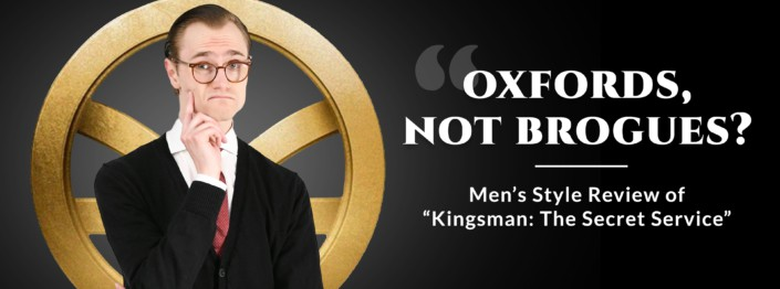 kingsman style review banner