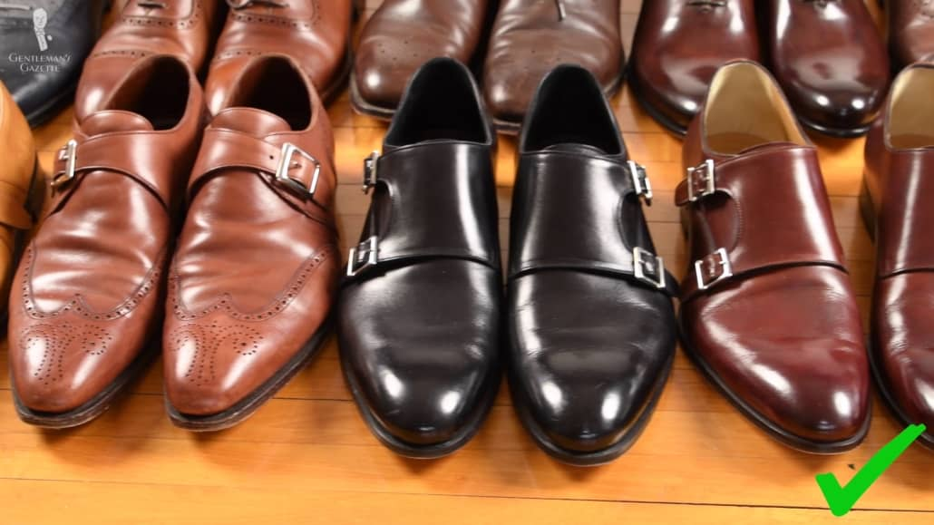 Invest in quality dress shoes - not only that they pair well with a suit, they would also last you for a long time.