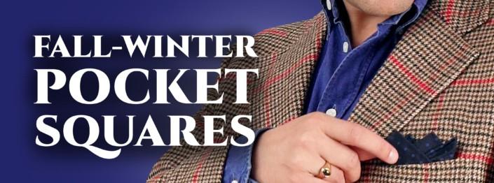 fall-winter pocket squares banner