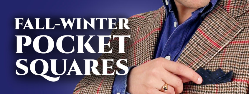 fall-winter pocket squares banner