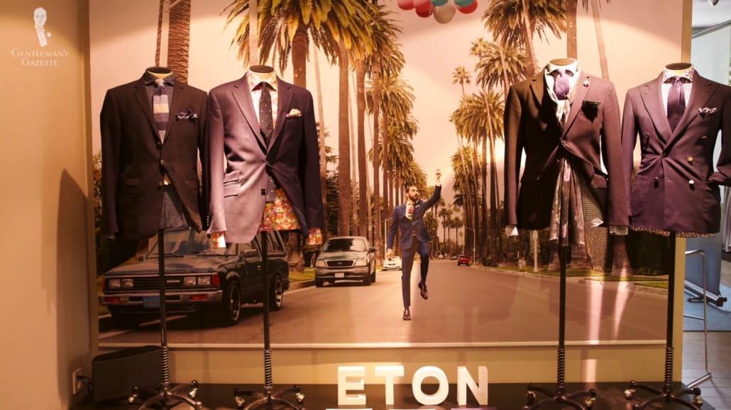High-quality garments from Eton.