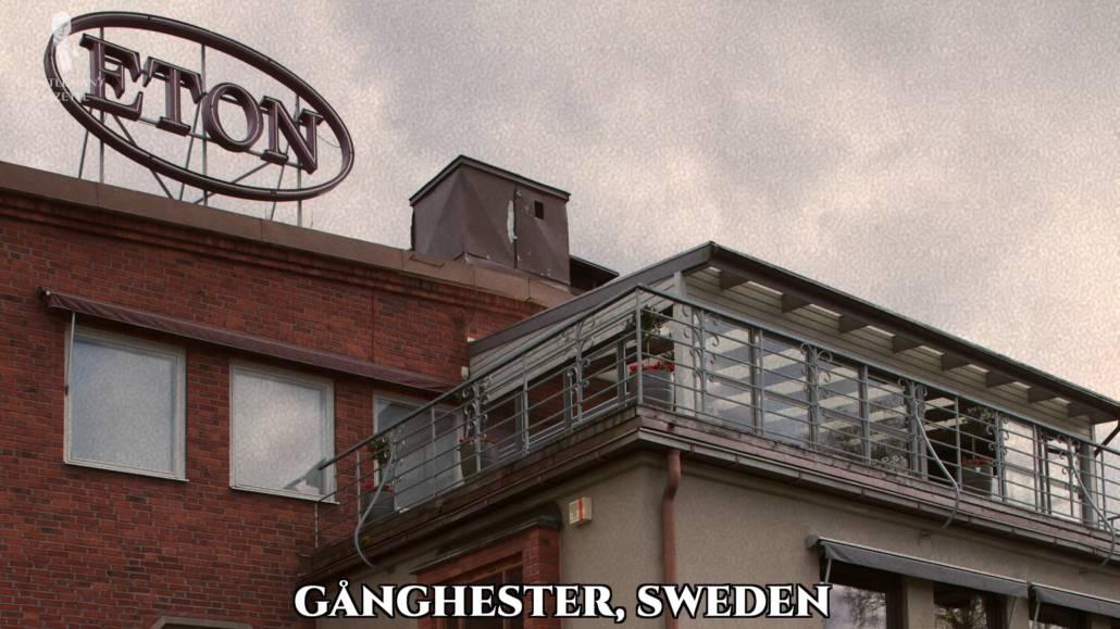 Eton's headquarters in Ganghester, Sweden.