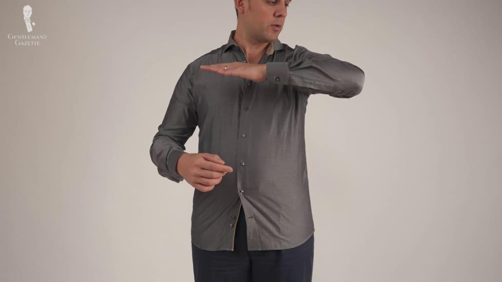 Eton sleeves