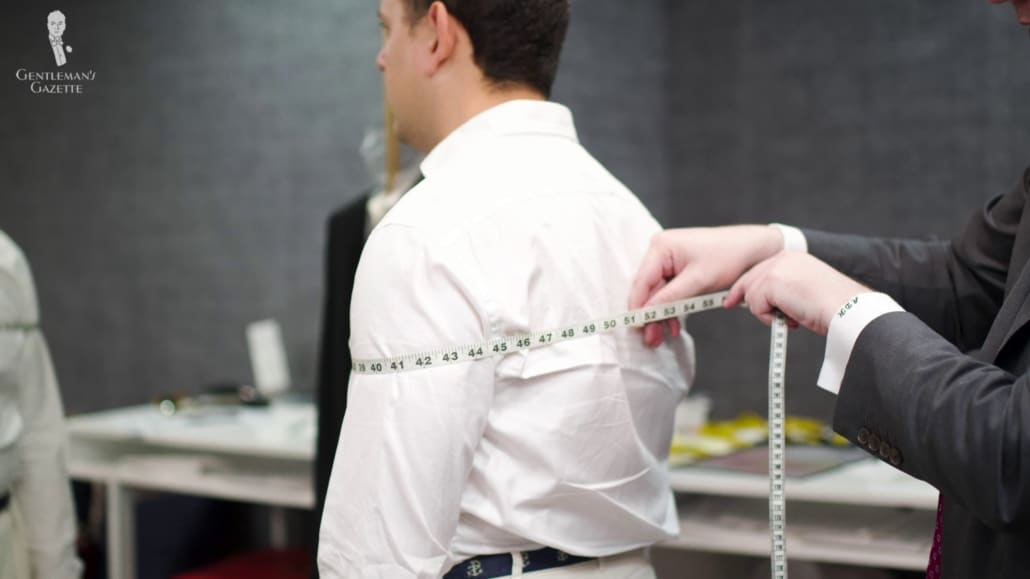 You also have the option to go with a local made-to measure store or a bespoke tailor instead.
