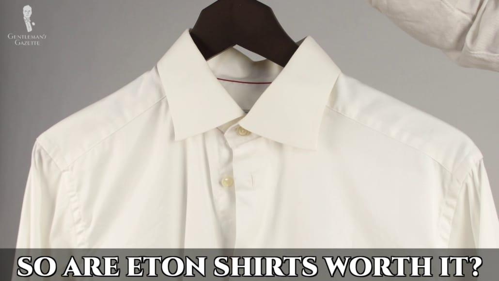 Are Eton shirts worth your money?