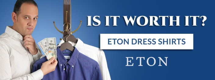 Is it worth it Eton Dress Shirt Cover with Raphael and dollar bills wondering whether Eton is worth the money