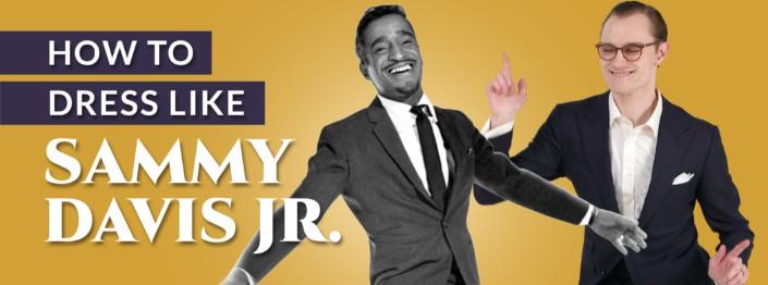 How to Dress Like Sammy Davis Jr - Preston and Davis striking dance-like poses