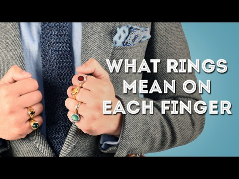 Wearing a does little what ring on finger mean your Ring Fingers