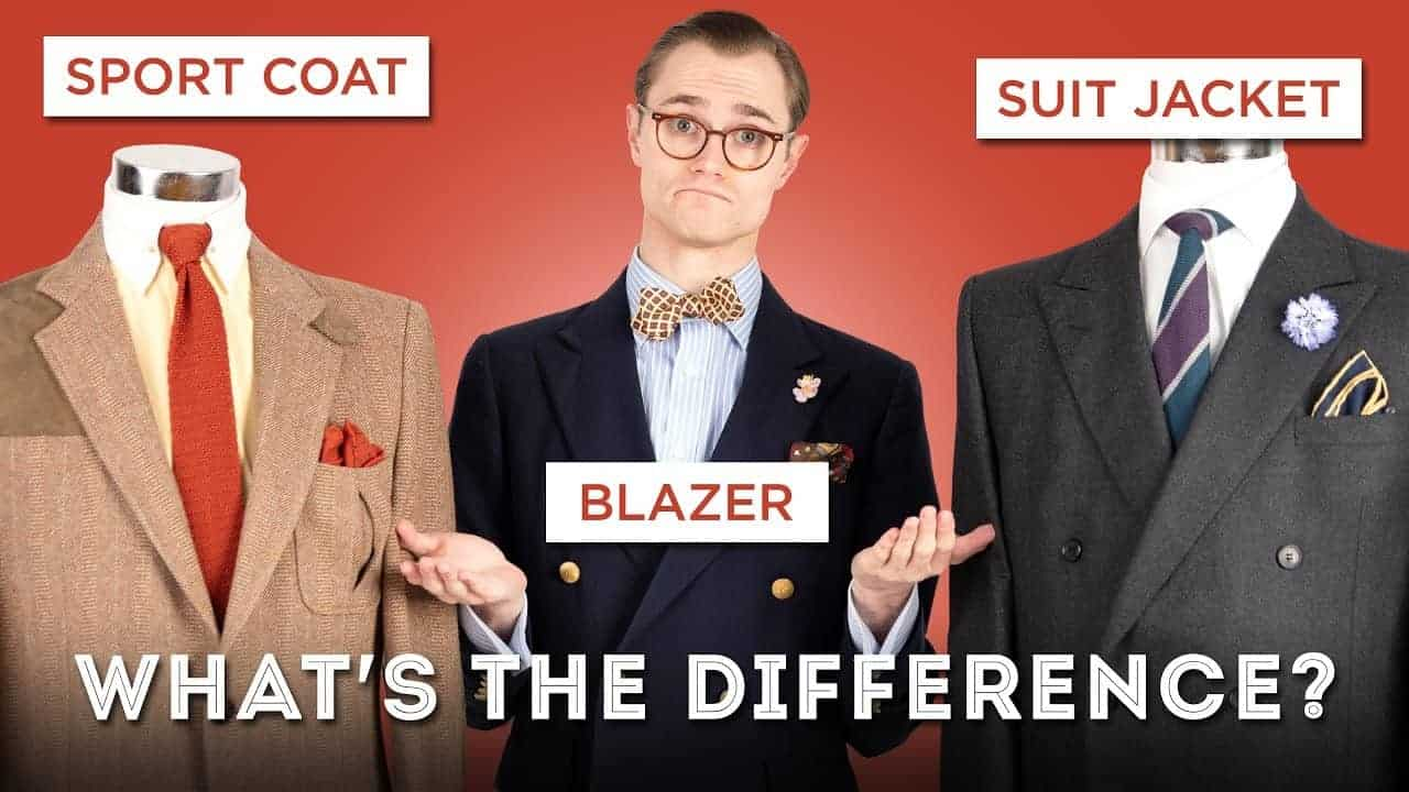Suit Jackets, Sport Coats, and Blazers: What's the Difference?