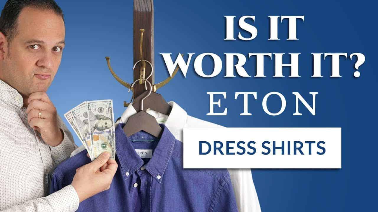 Details about  /Eton Striped Dress Shirt