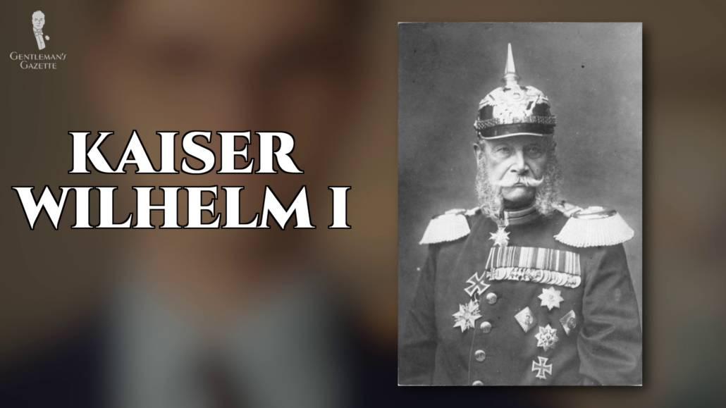 A photo of Kaiser Wilhelm I