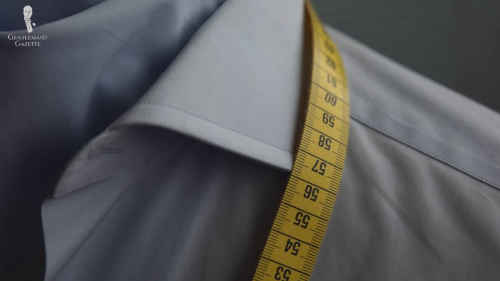 A made-to-measure shirt is something in between of an OTR and bespoke.