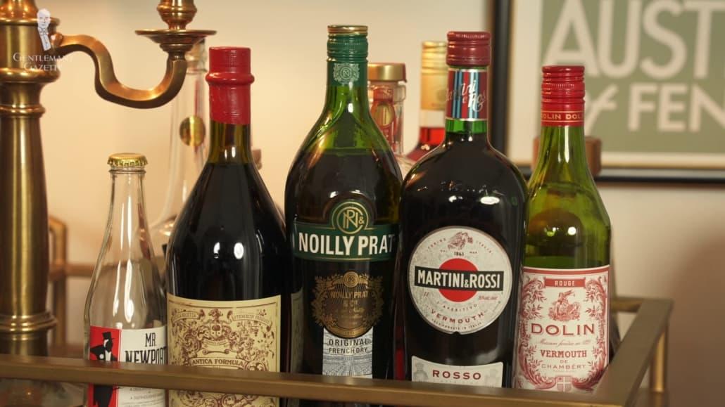 Vermouth Selection