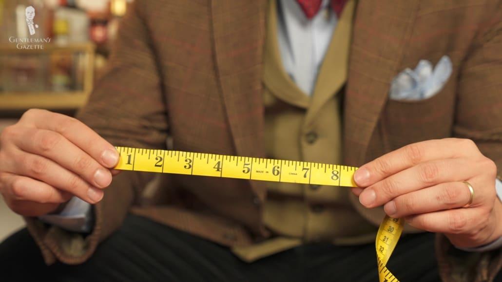 Singer measuring tape