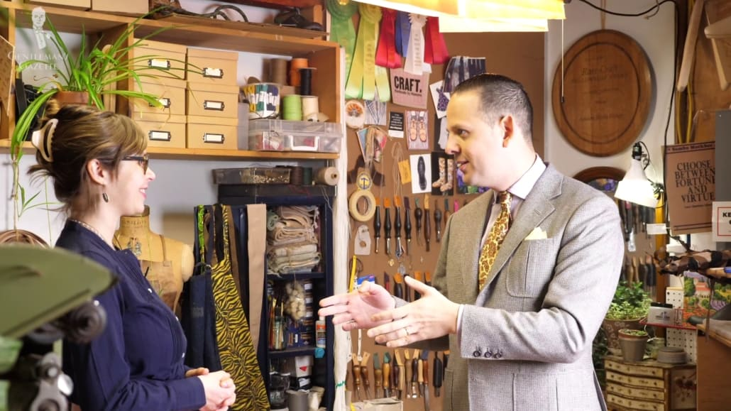 A good working relationship with an artisan will likely provide better results with your garments.